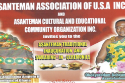 Asanteman traditional inauguration and swearing-in-ceremonies