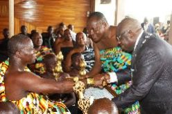 OTUMFUO made honorary member of Ghana Institute of Engineers