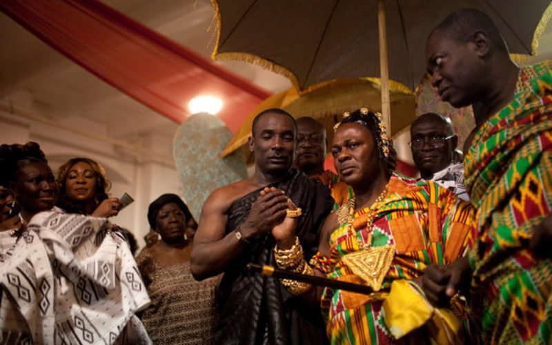 With Fanfare, Ashanti People From Ghana Install Their New York Chief