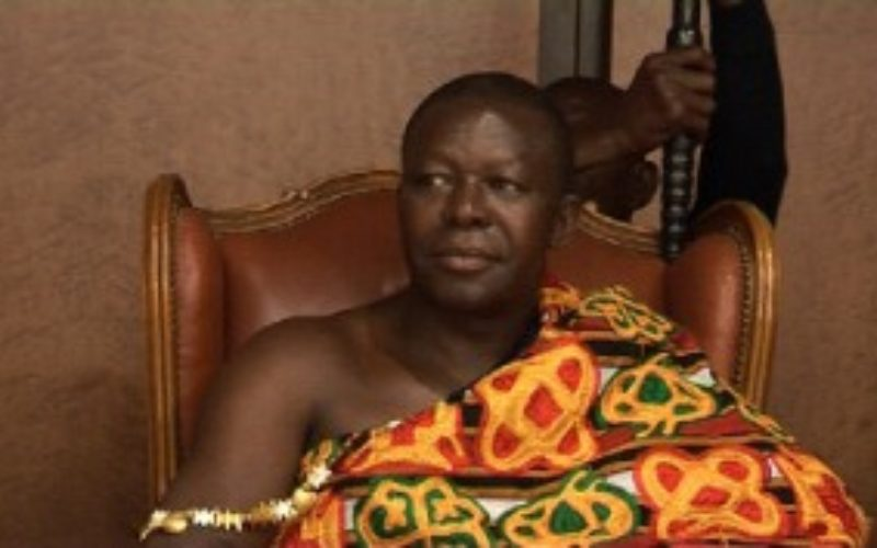 Asantehene pleads with the developed world to support Ghana