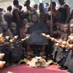 Chiefs, Clergy, security personnel, movie actors attend Asantehemaa's funeral rites