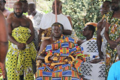 Asantehene celebrates 'Awukudae' In the USA