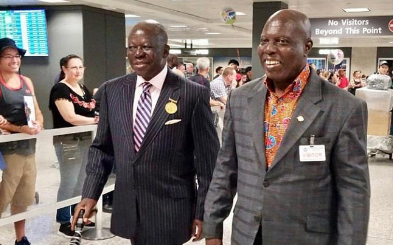 Otumfuo Osei Tutu II, Asantehene Arrives in Washington DC