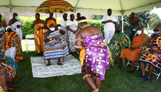 Asantehene marks Akwasidae in Maryland …a scene of great picturesqueness and grandeur